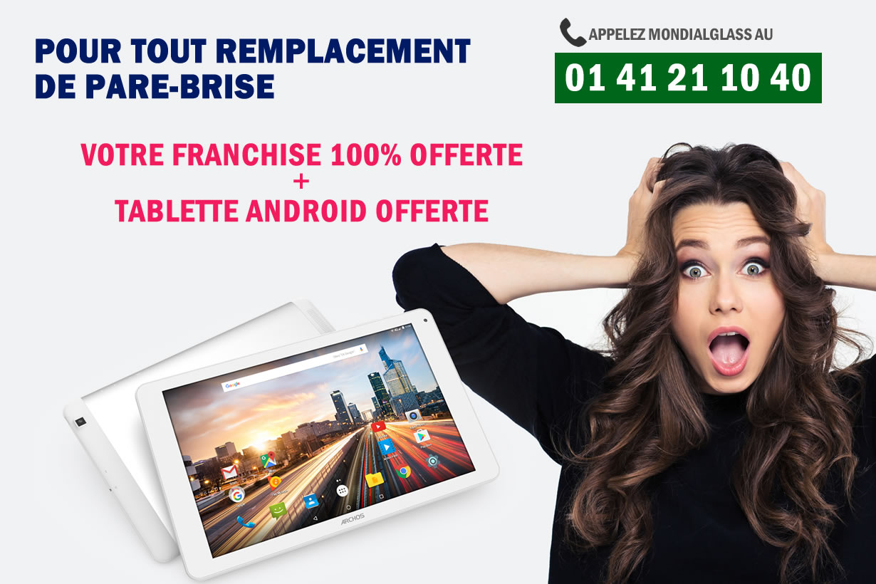 remplacement-pare-brise-franchise-offerte-tablette2 Remplacement pare-brise Rover CAMBRIDGE (A60) tablette offerte